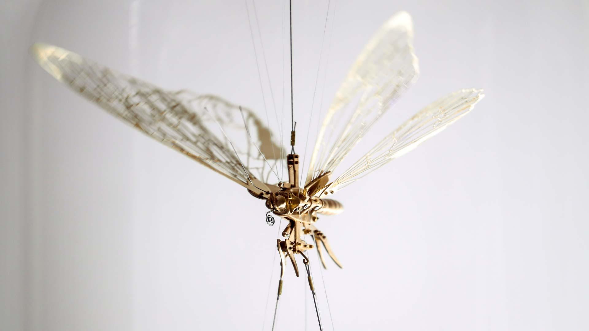 Flight is a Waltz: Puppet Flutter