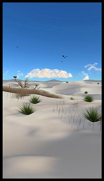 Deserted: White Sands