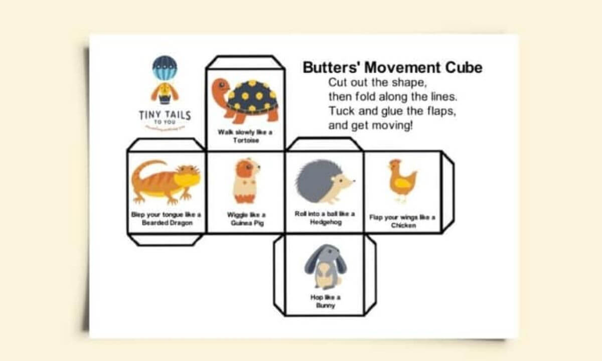 Movement Cube Game