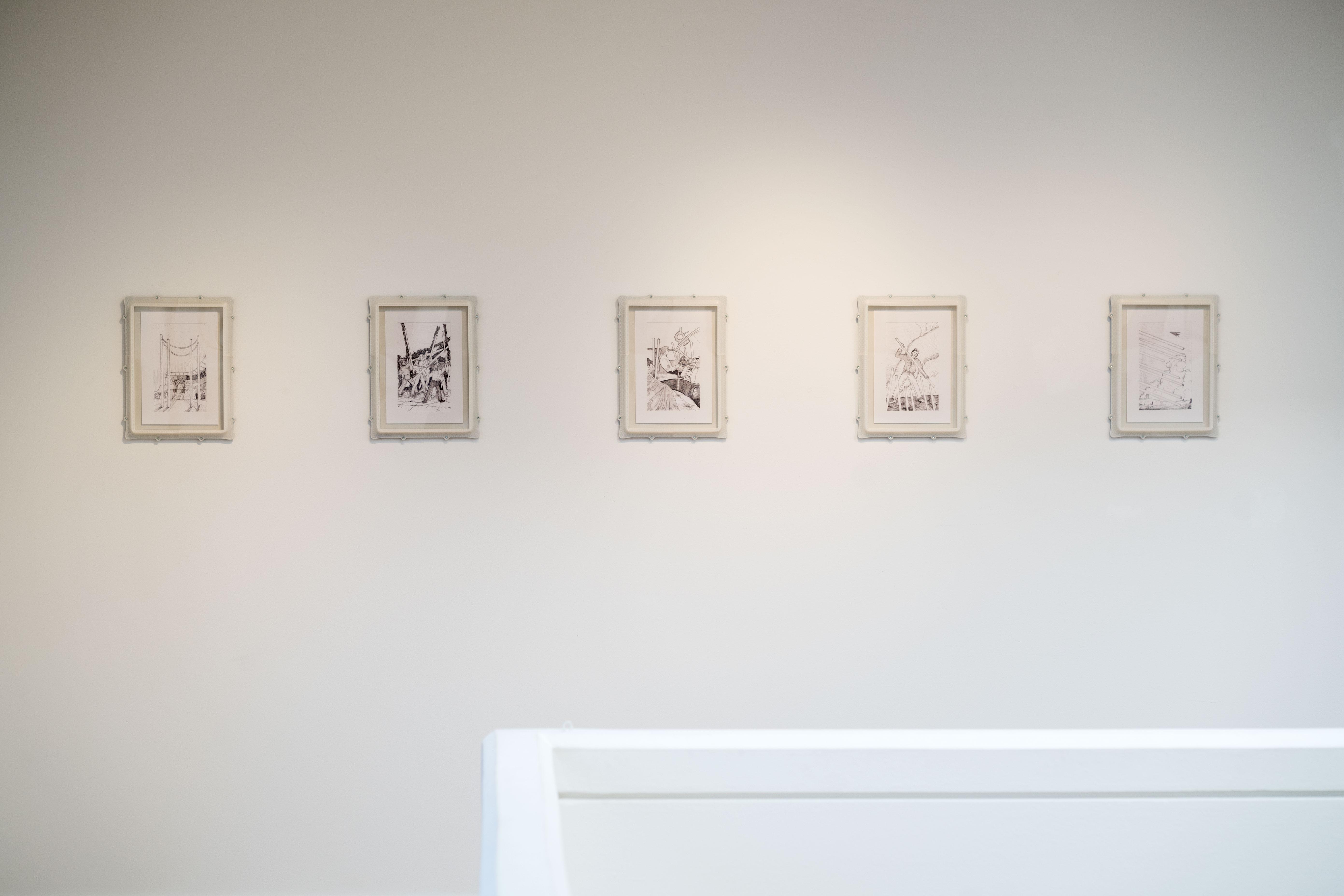 Paul Valentin Exhibition AdbK München Kunst MaximiliansForum Munich Ausstellung Wands