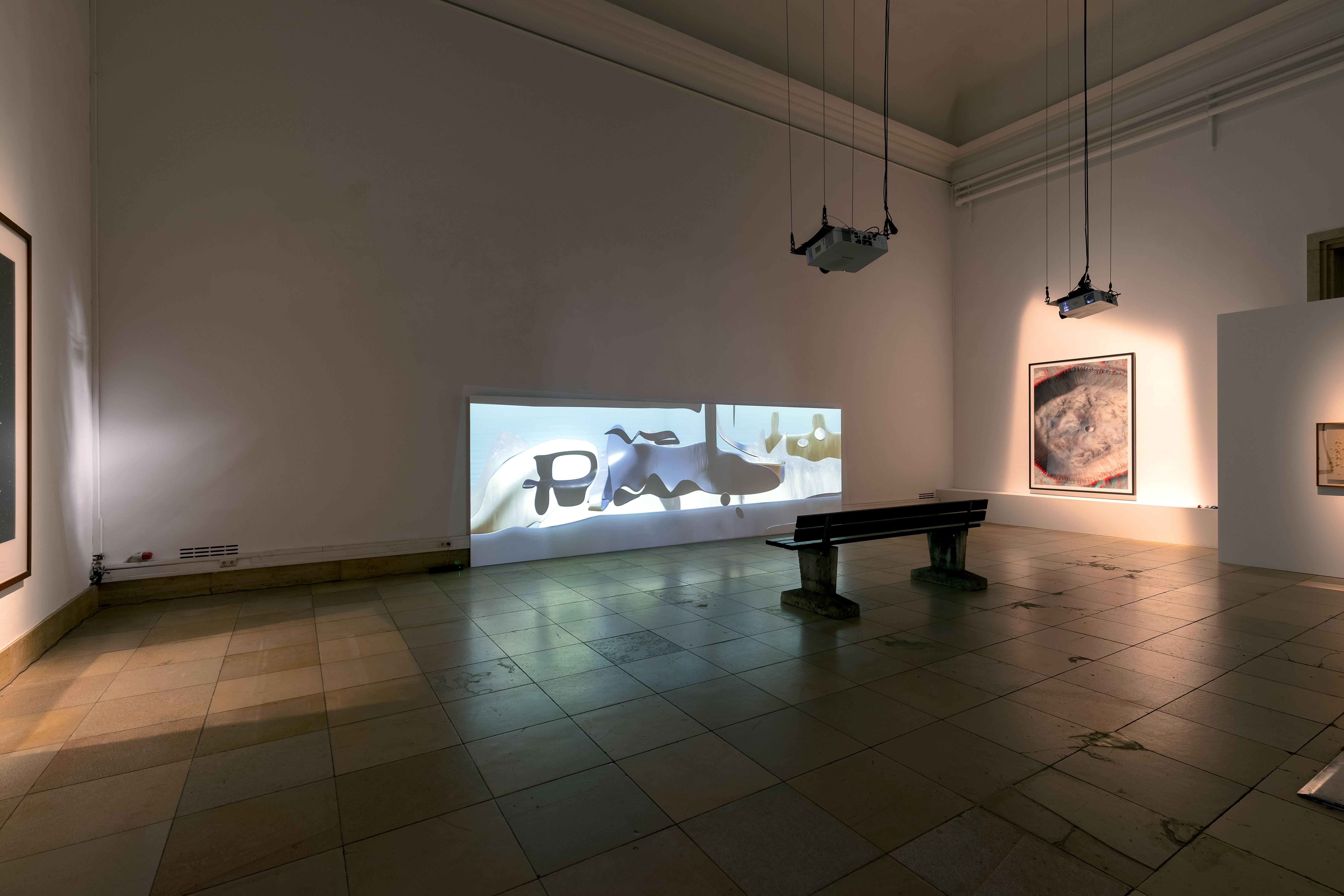 Beyond The See Paul Valentin Reglitterized Haus der Kunst