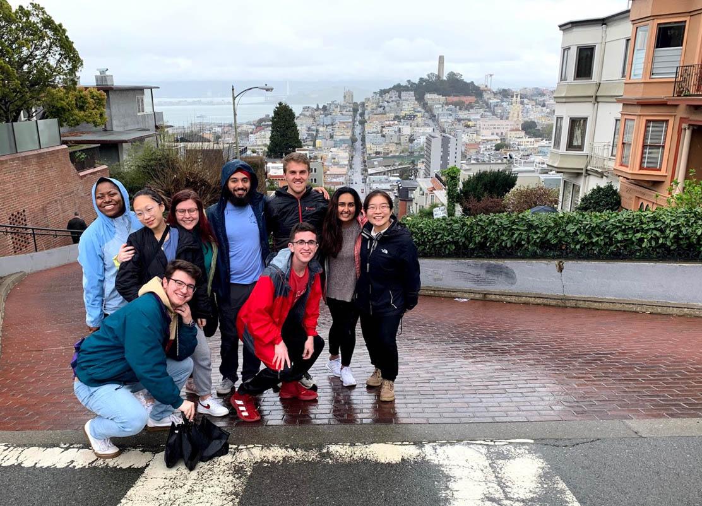 San Francisco team in SF