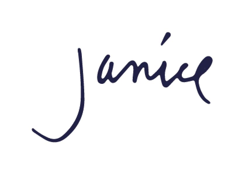 Janice's signature
