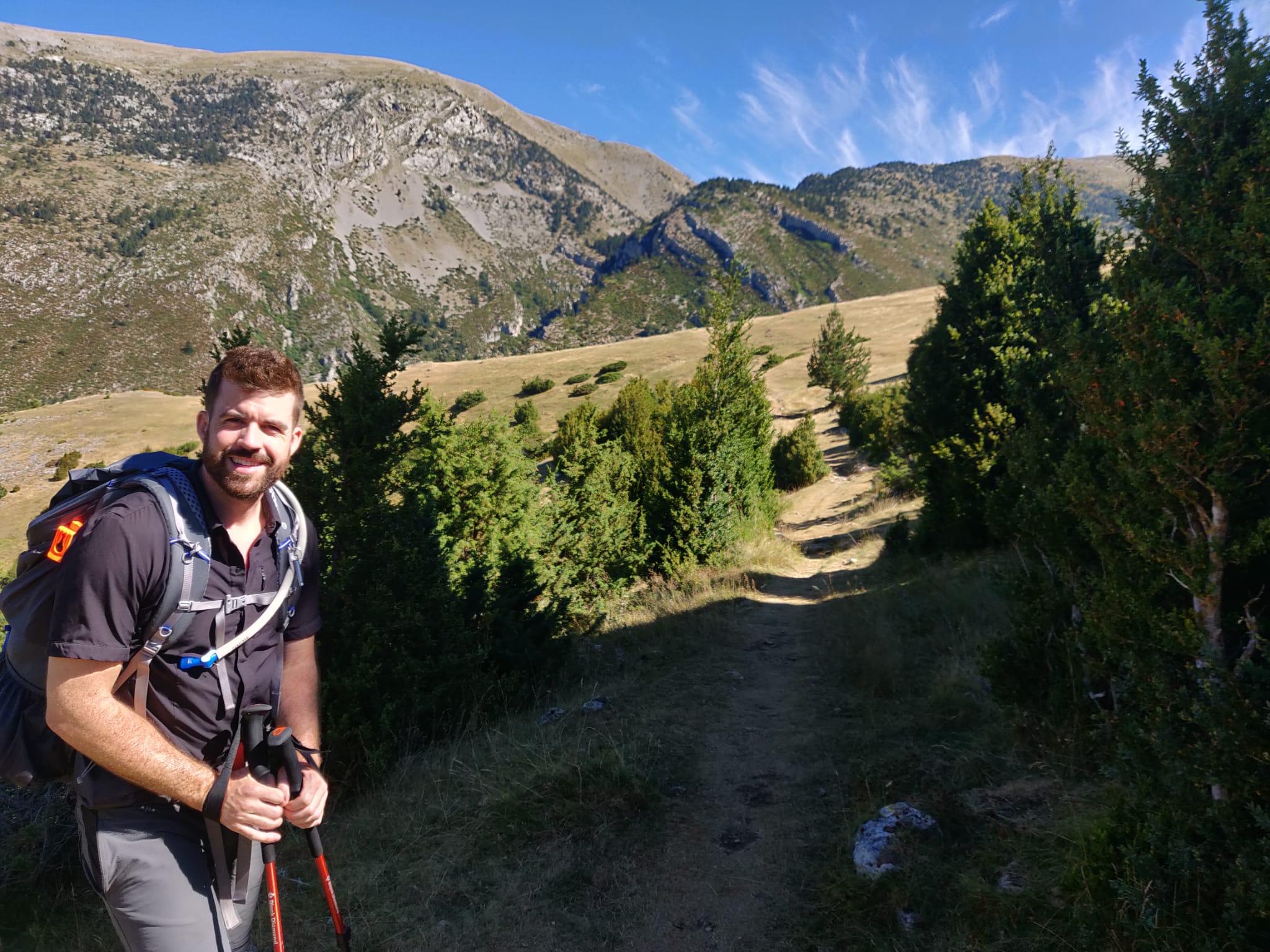 Winding around Pedraforca