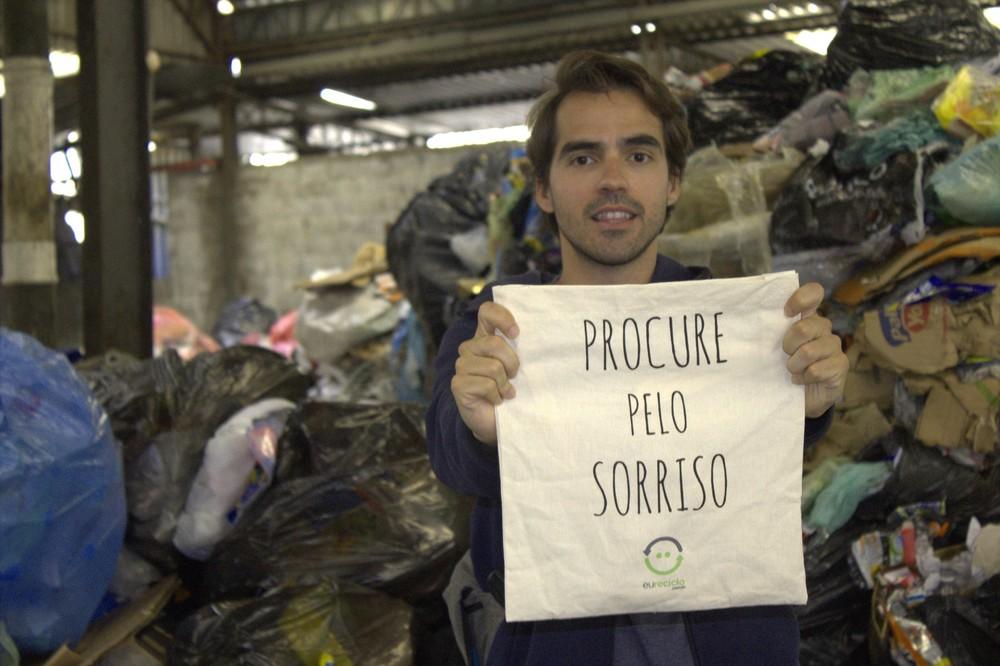 Para a Eureciclo, lixo dos outros é bom negócio