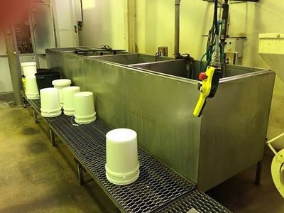 Blanching Tanks