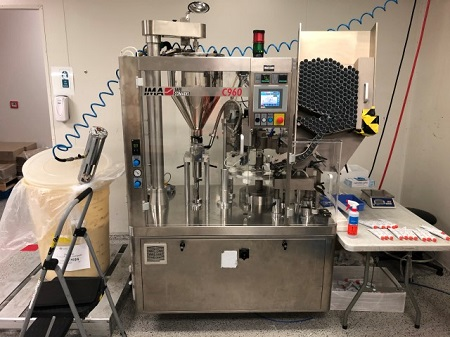 Tube Filler & Sealer