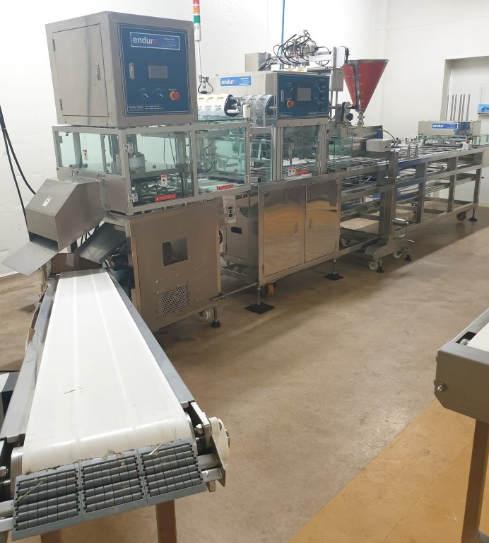 Tray Packing Machine w/ Filler