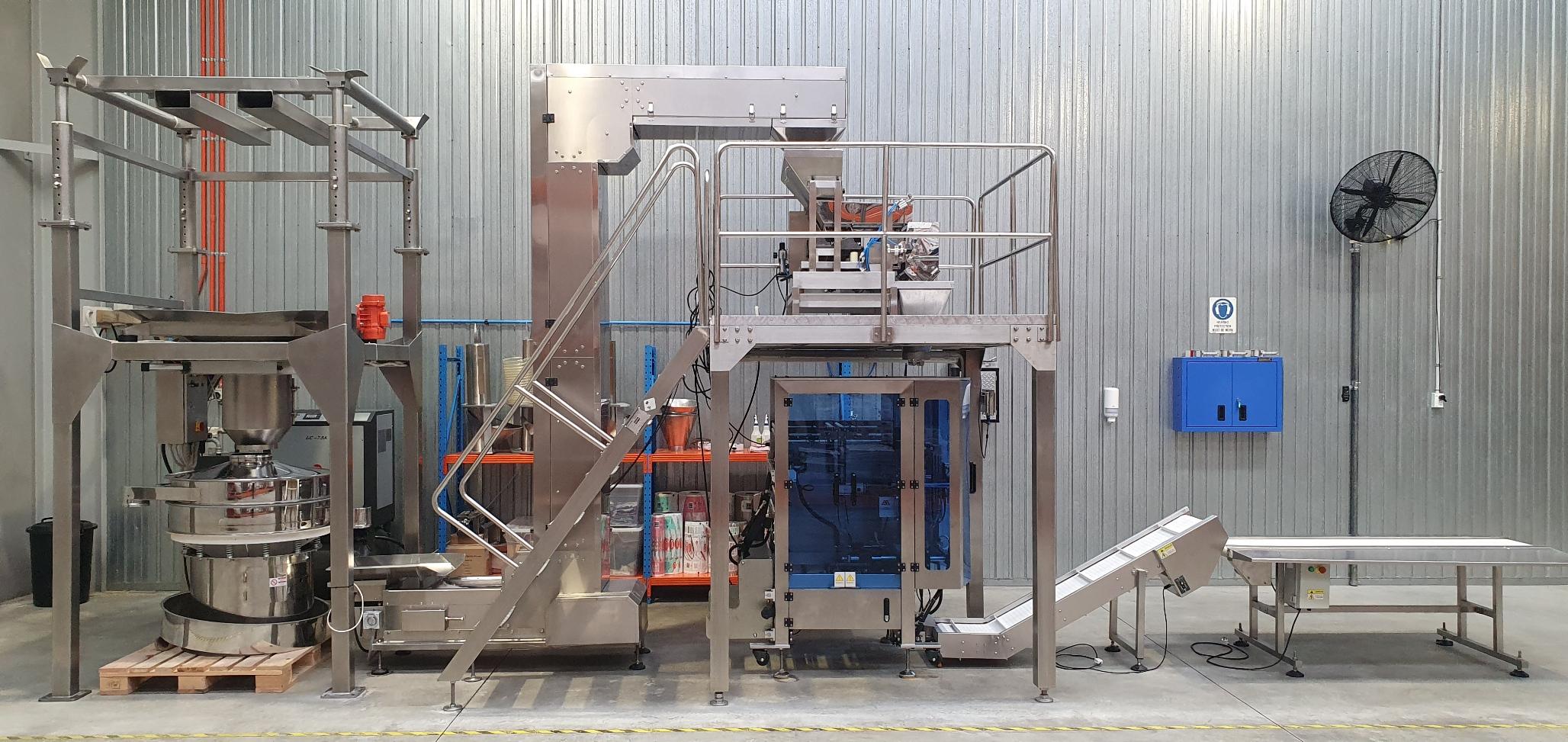 Granular Bagging Plant