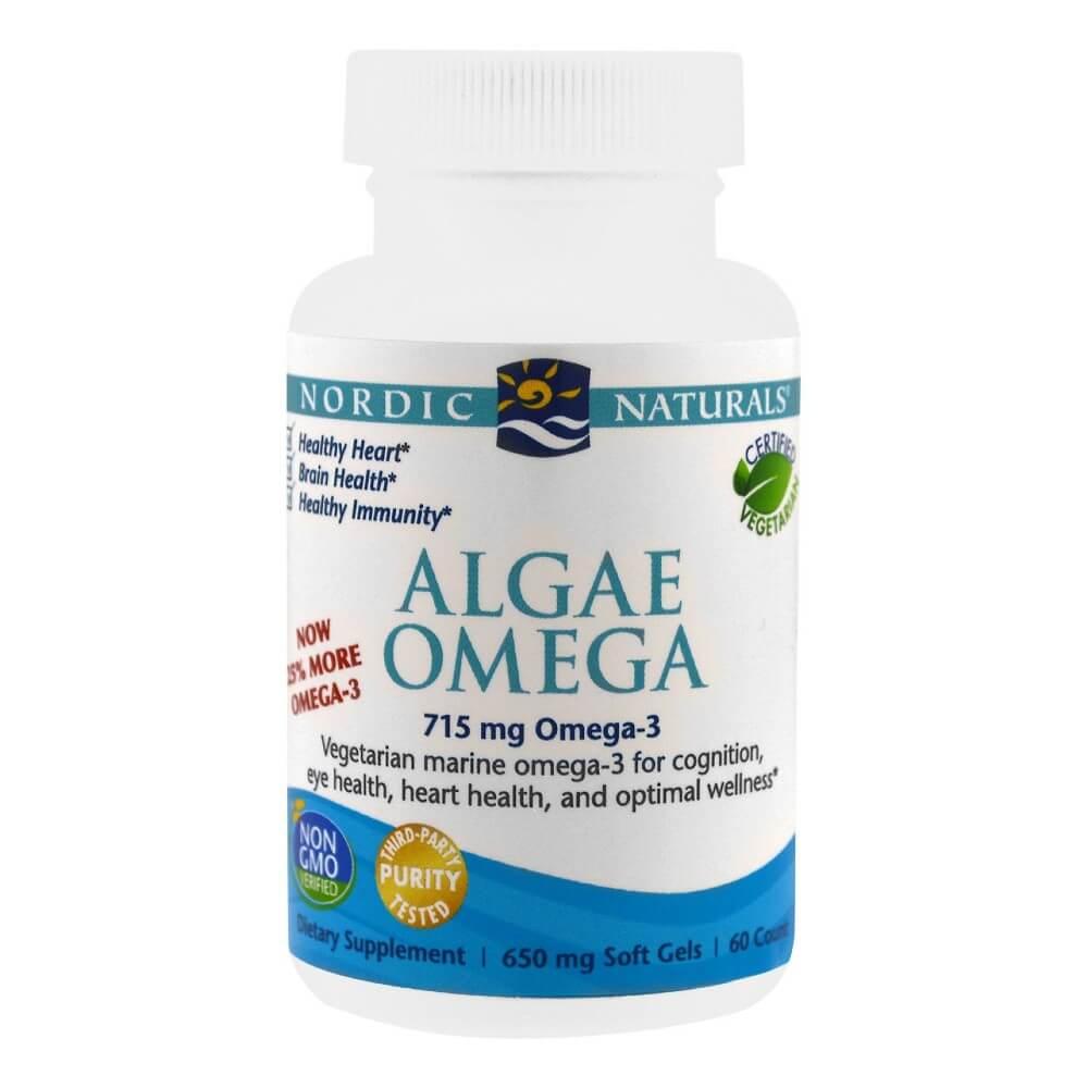 Algae Omega - Vegetarian Omega-3 Supplement