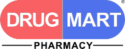 Drug Mart logo footer section