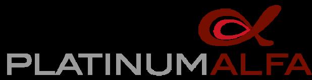 Platinum alfa logo.