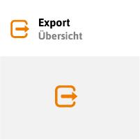 Alle Daten sind exportierbar