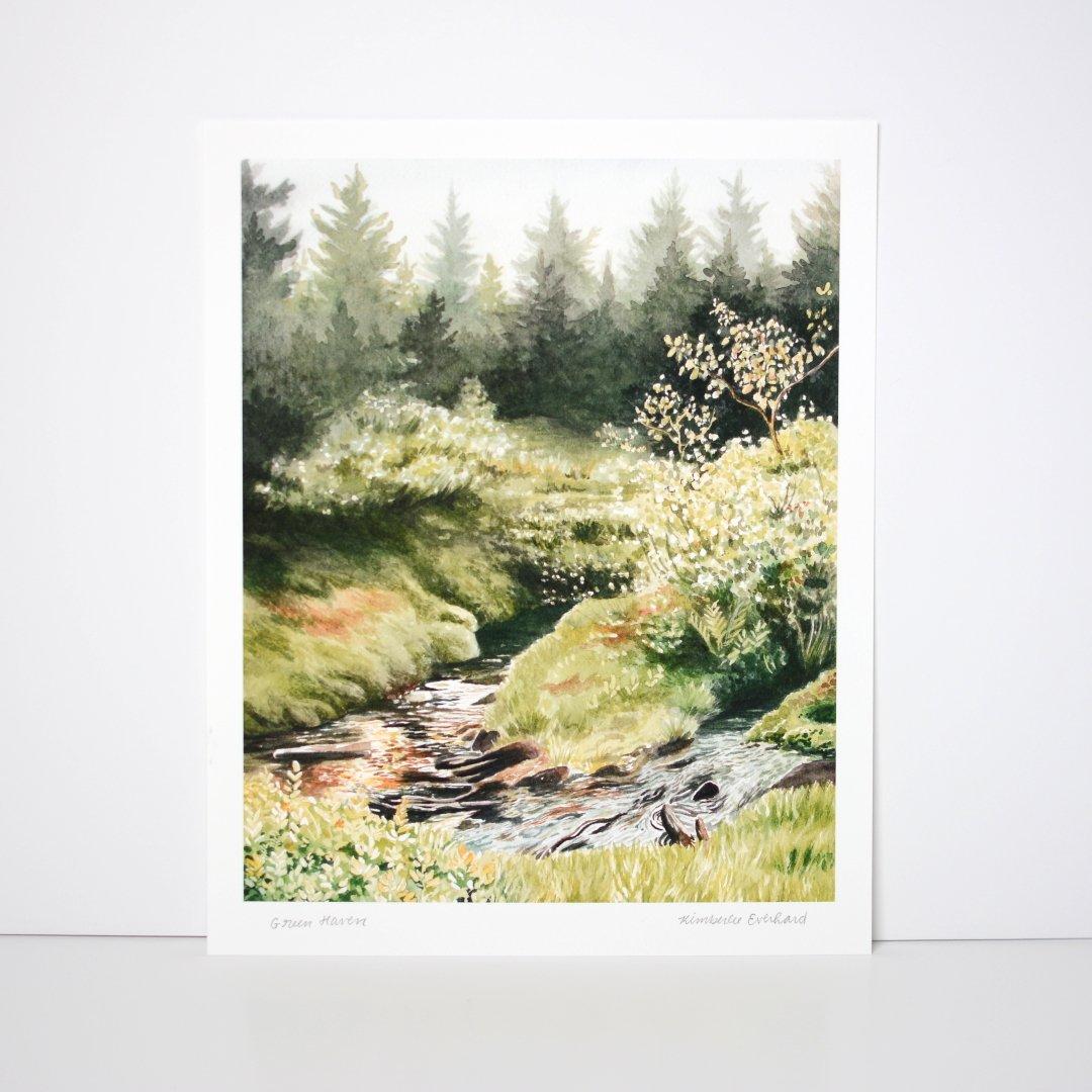 Green Haven - Fine Art Print