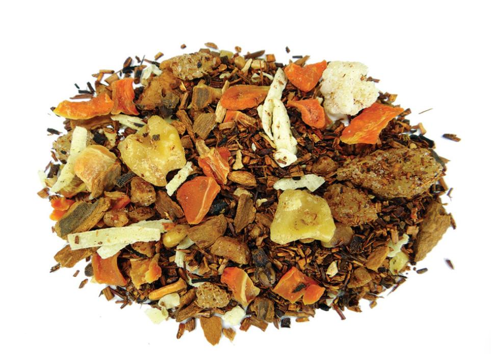 Loose-leaf carrot cake tea