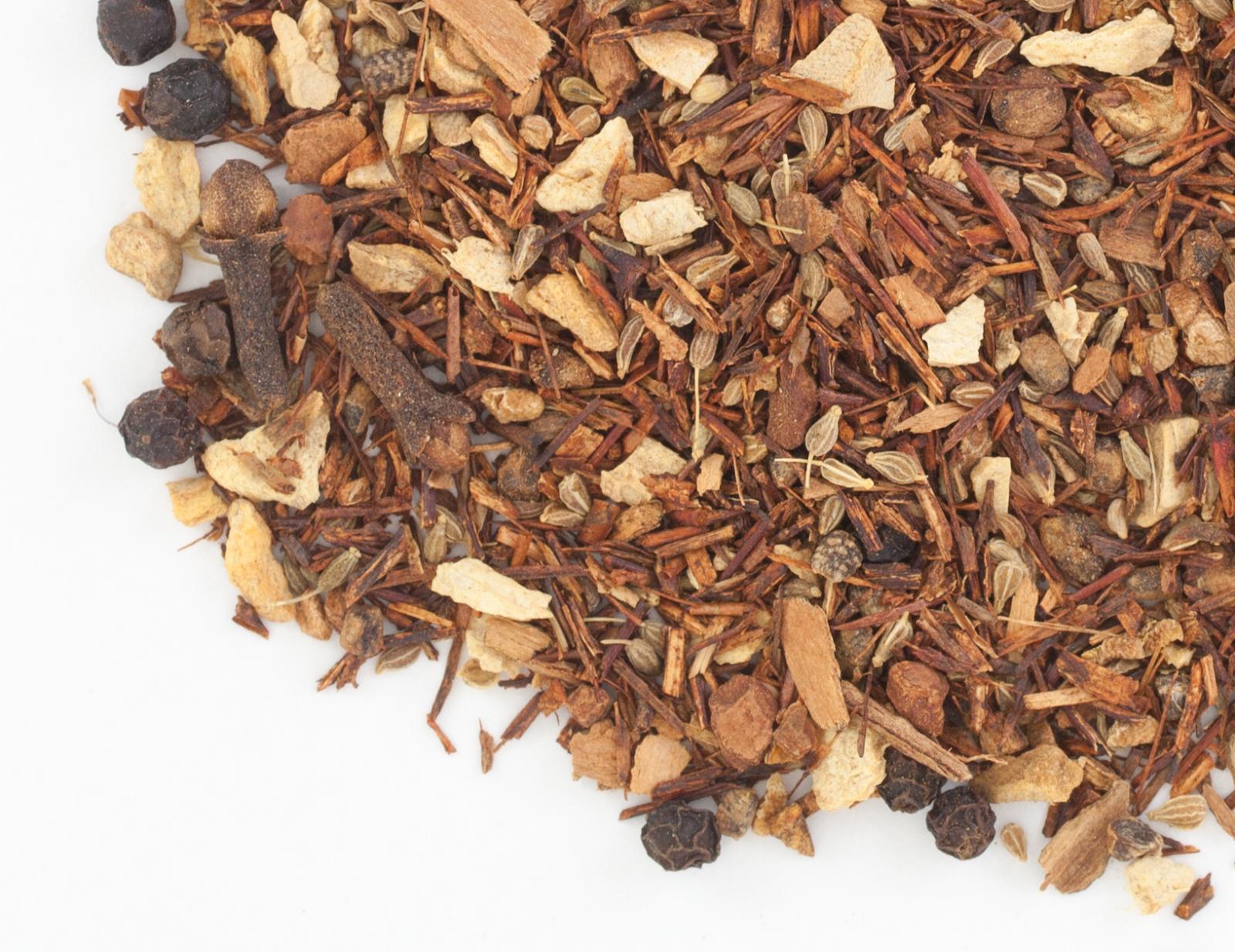 Loose-leaf red chai tea