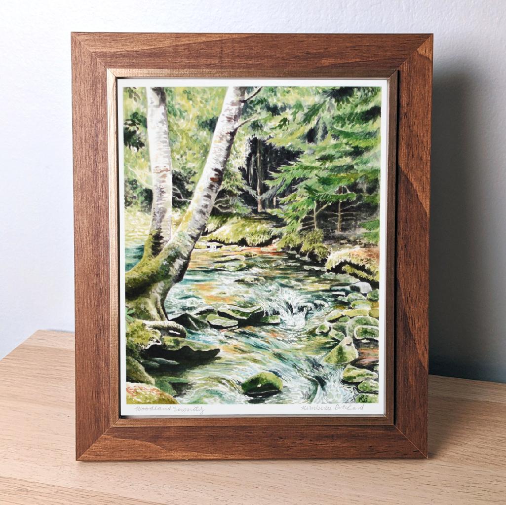 Woodland Serenity - Fine Art Print