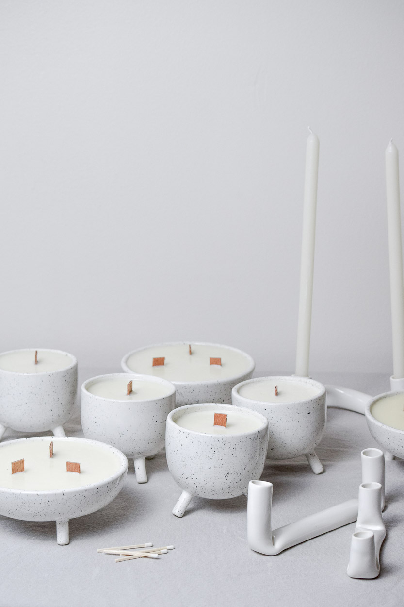 Speckled Candles
