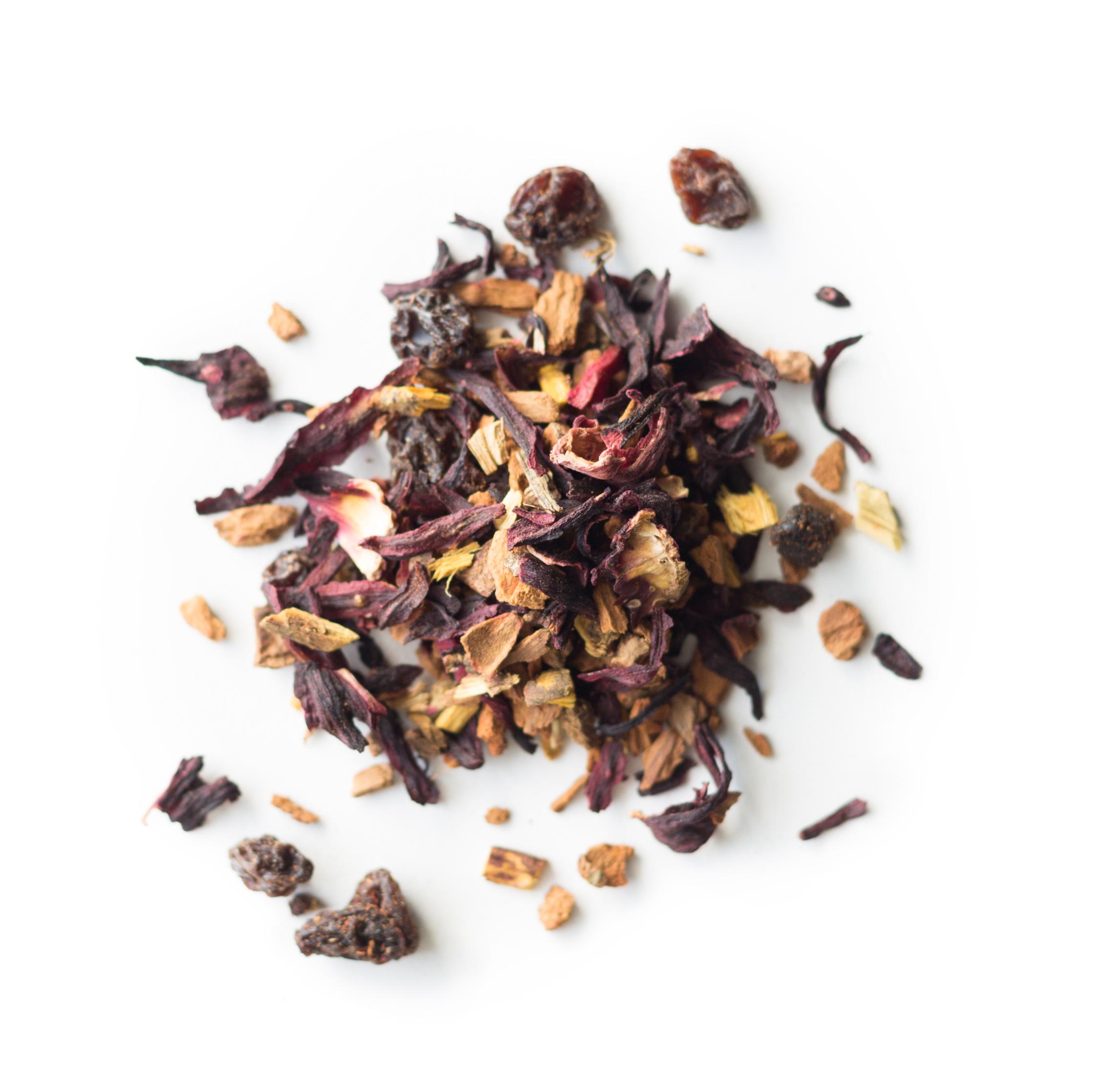 Cinnamon Plum Tea