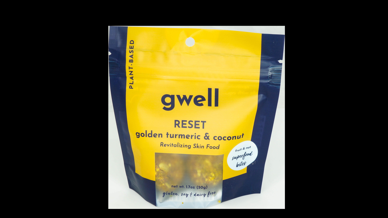 Reset Golden Turmeric & Coconut Gwell Bites