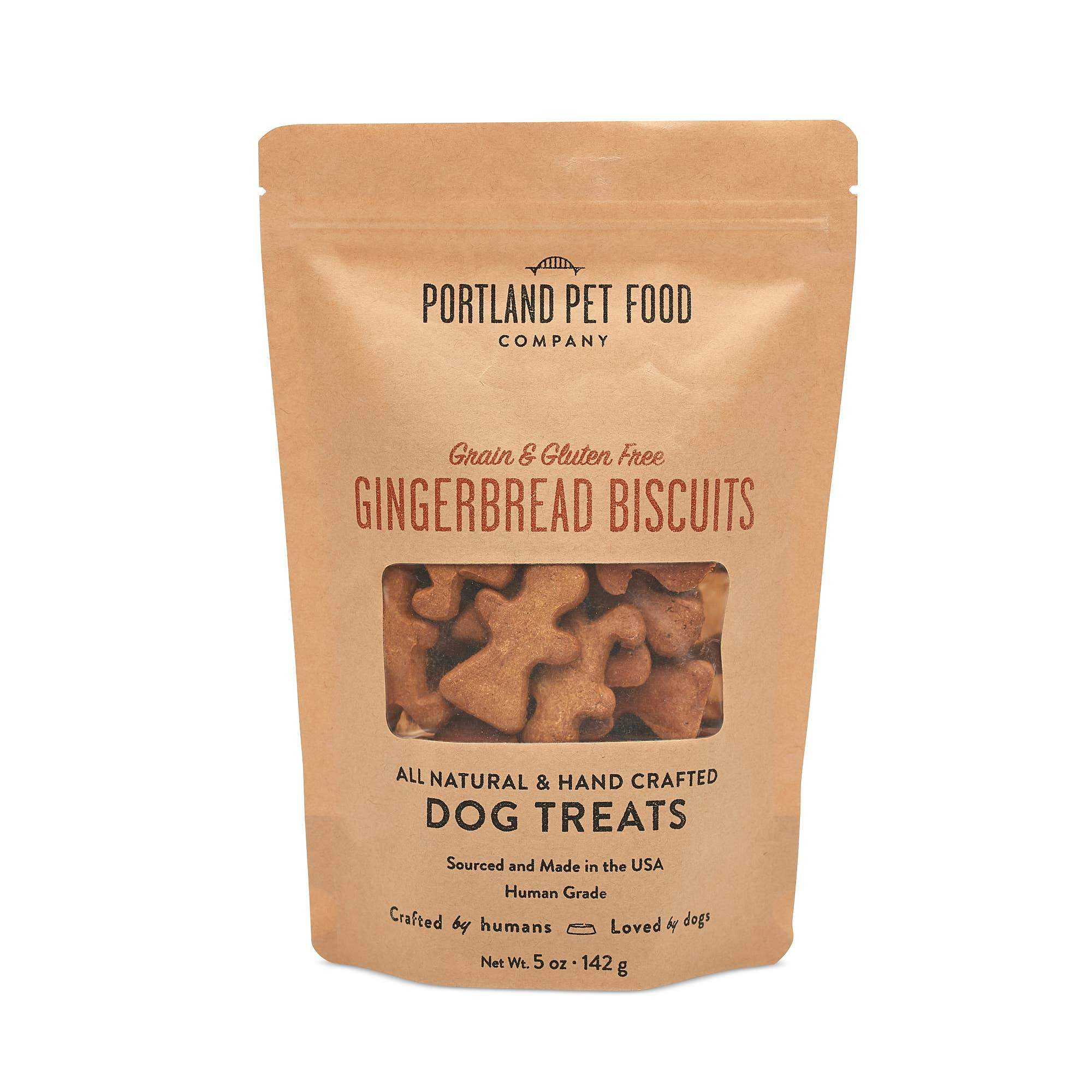 Grain and Gluten Free Gingerbread Dog Biscuits