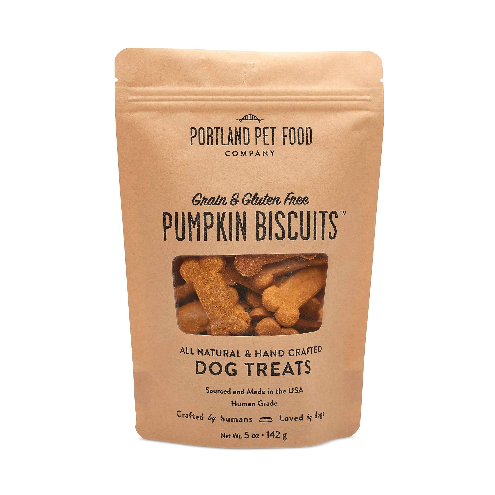 Grain and Gluten Free Pumpkin Dog Biscuits