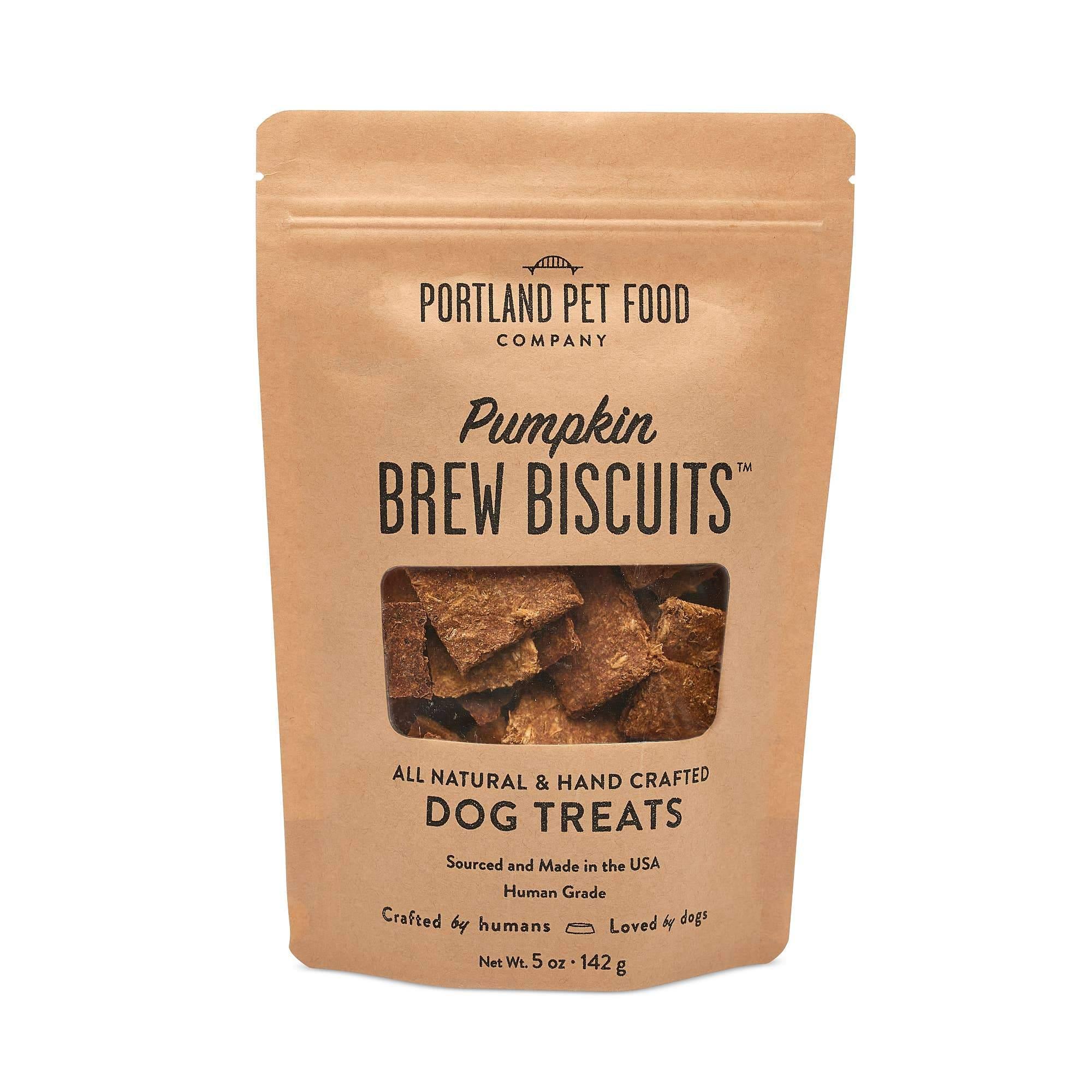 Pumpkin Brew Dog Biscuits