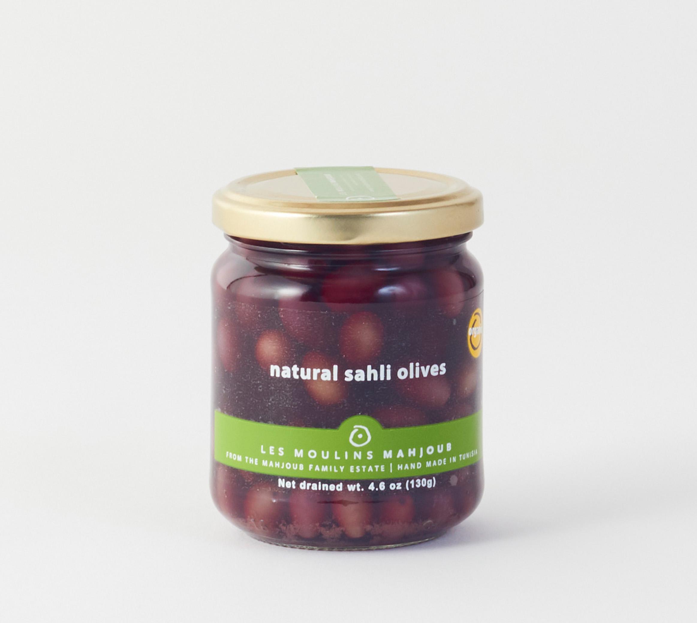 Natural Sahli Olives