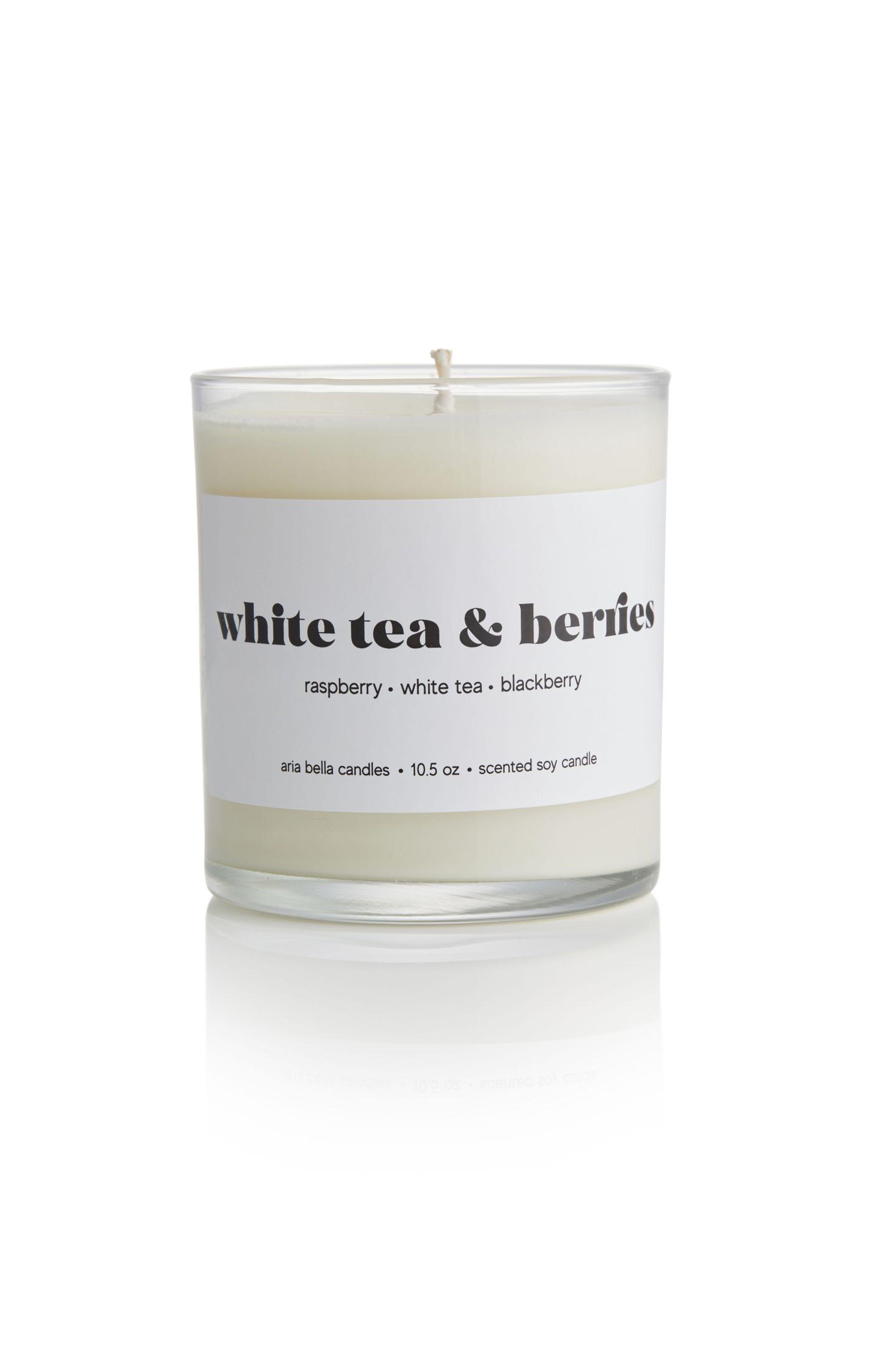 White Tea & Berries Candle - Aria Bella