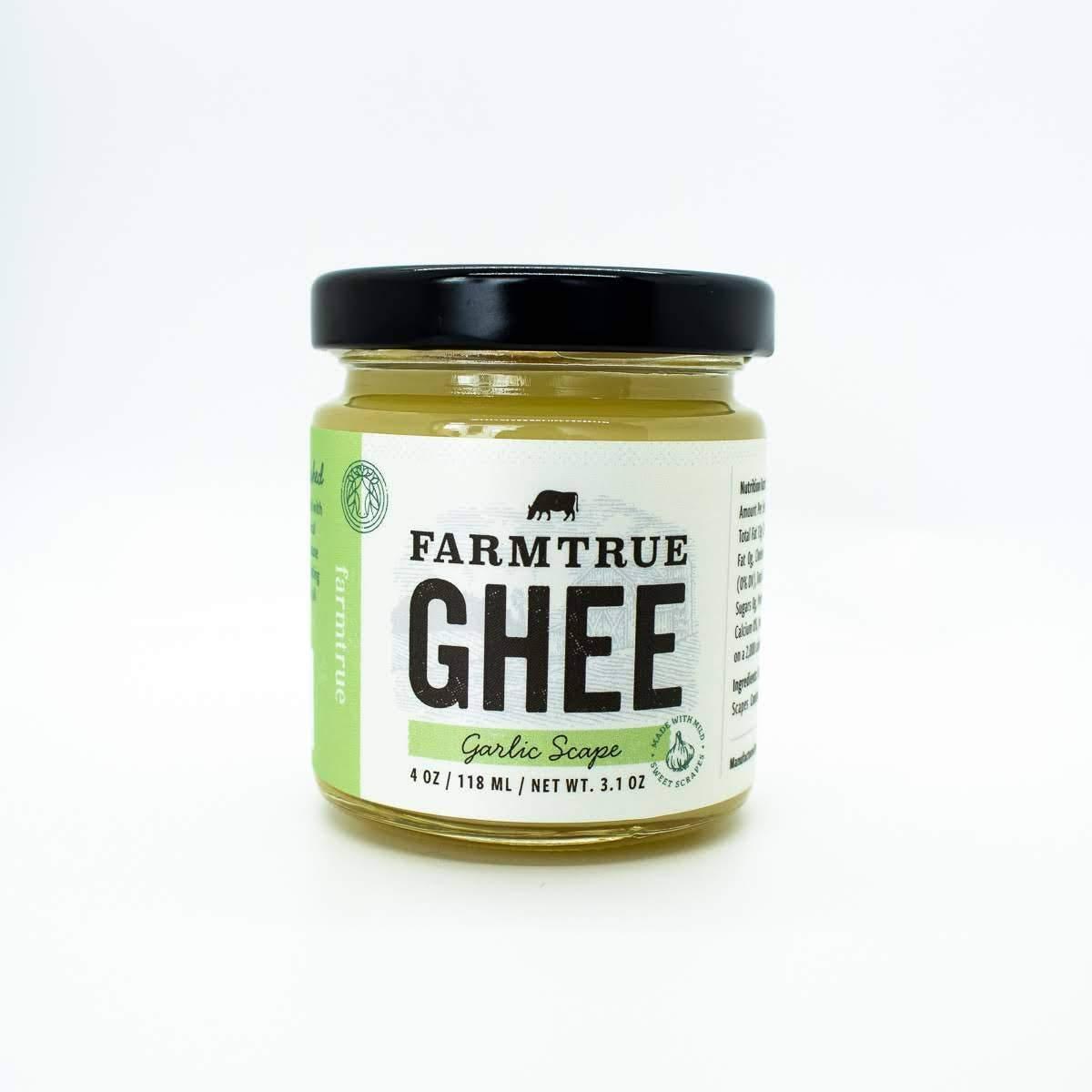 4oz Garlic Scape Ghee