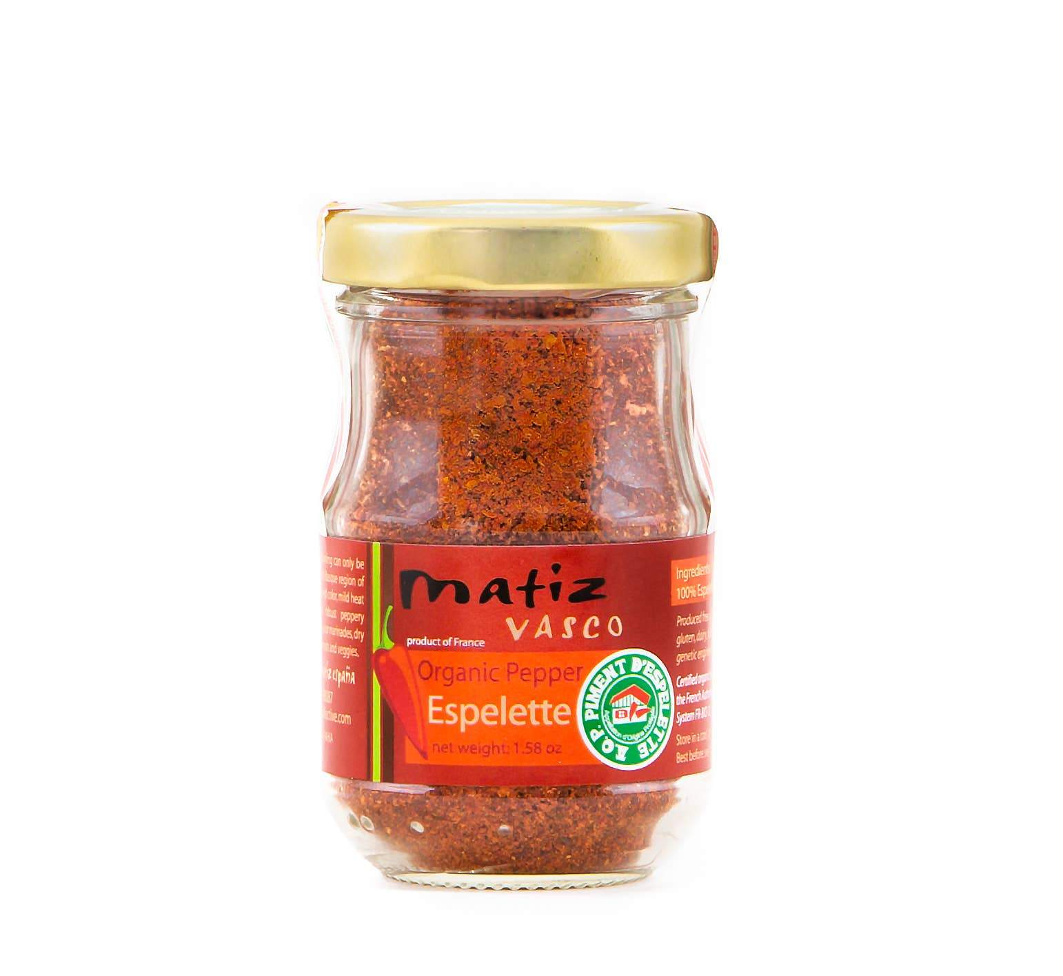 Matiz Piment d' Espelette - 1.6oz