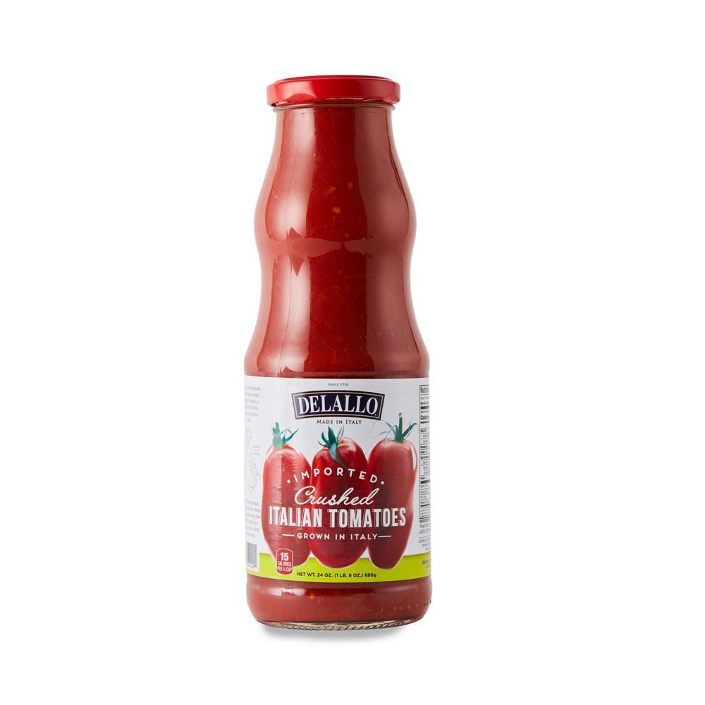 DeLallo Imported Italian Crushed Tomatoes 24 oz.