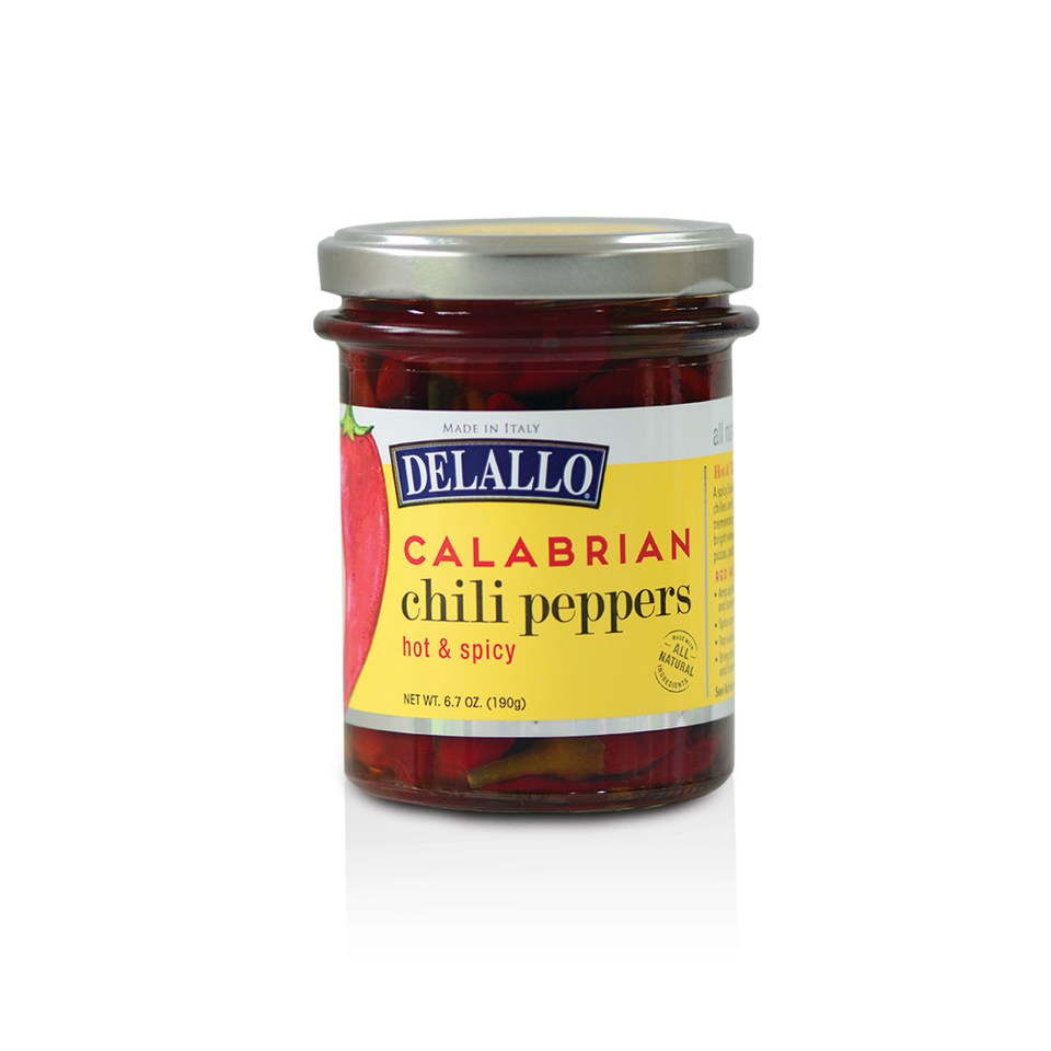 Calabrian Chili Peppers in Jar 6.7 oz