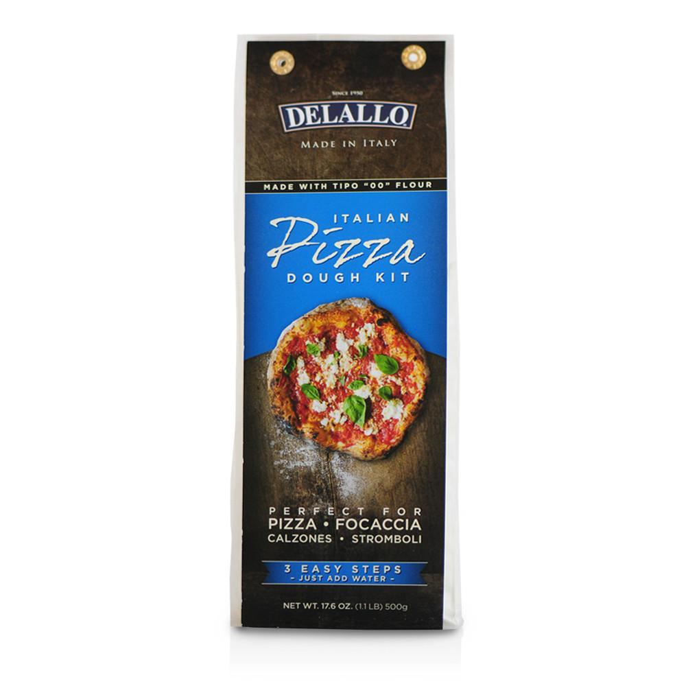 DeLallo Pizza Dough Kit 17.6 oz.