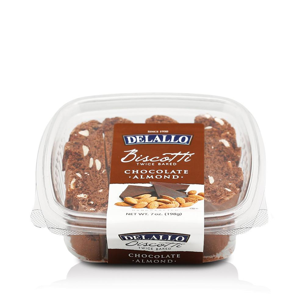 DeLallo Chocolate Almond Biscotti 7 oz.