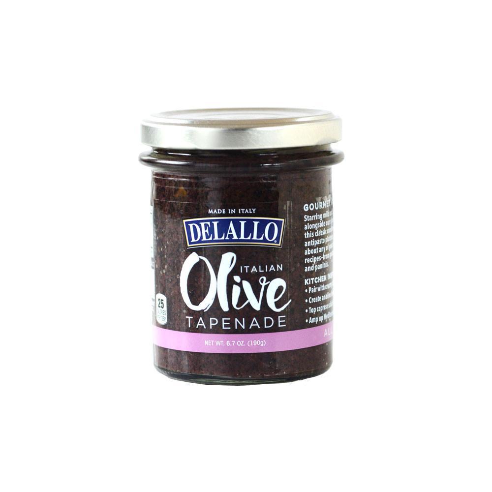DeLallo Italian Olive Tapenade 6.7 oz.