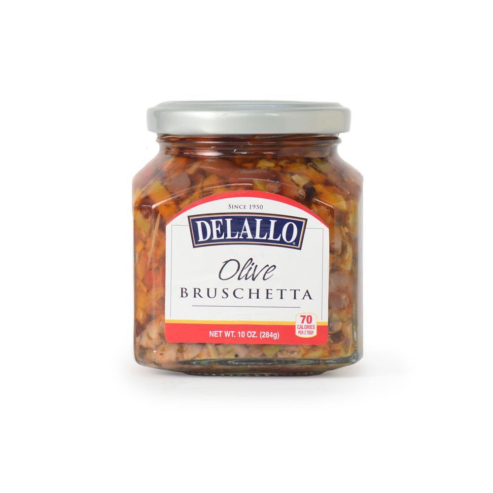DeLallo Olive Bruschetta 10 oz.