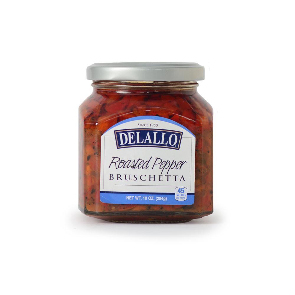 DeLallo Roasted Pepper Bruschetta 10 oz.