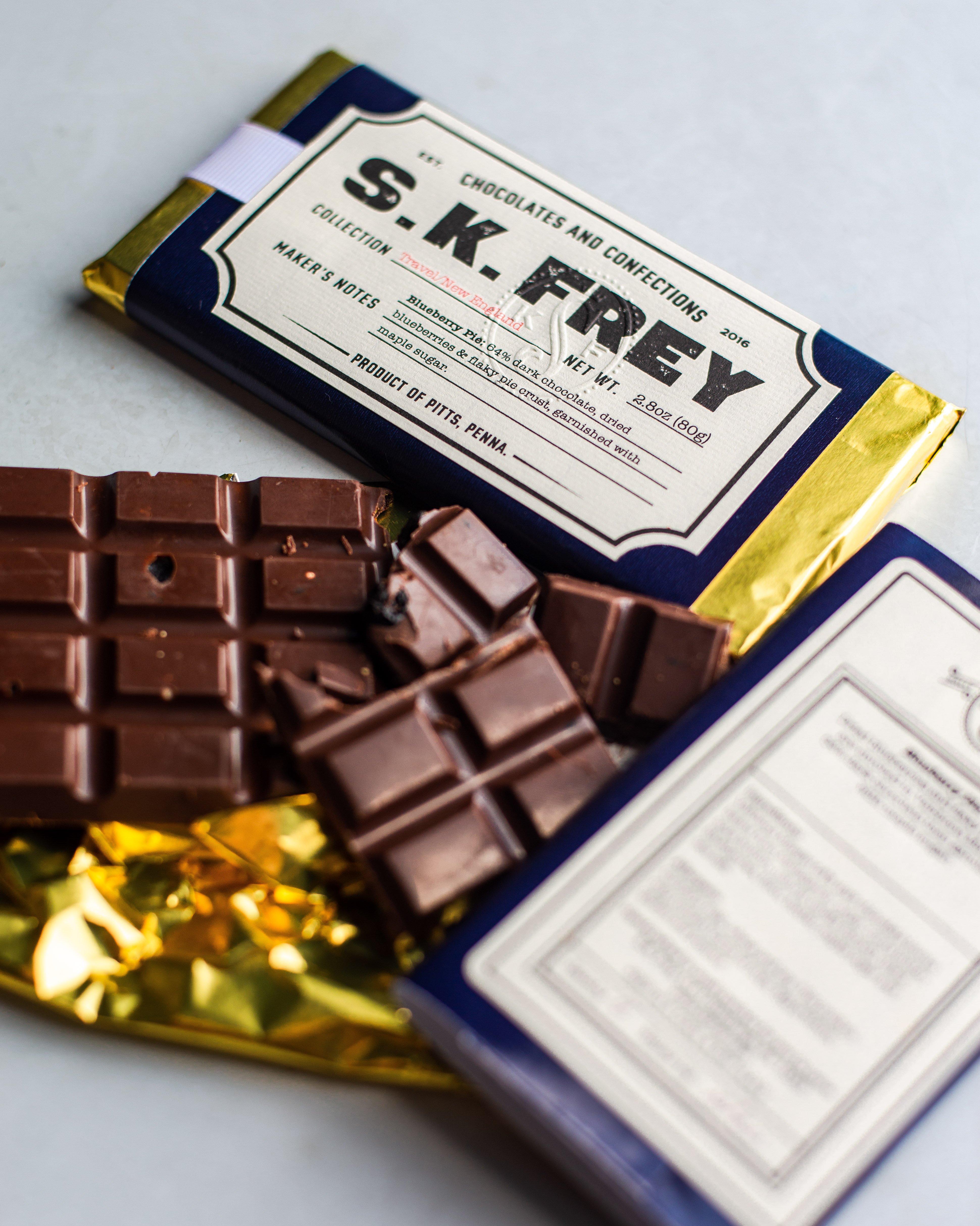Travel Series Chocolate Bar - S.K. Frey Chocolates & Confections