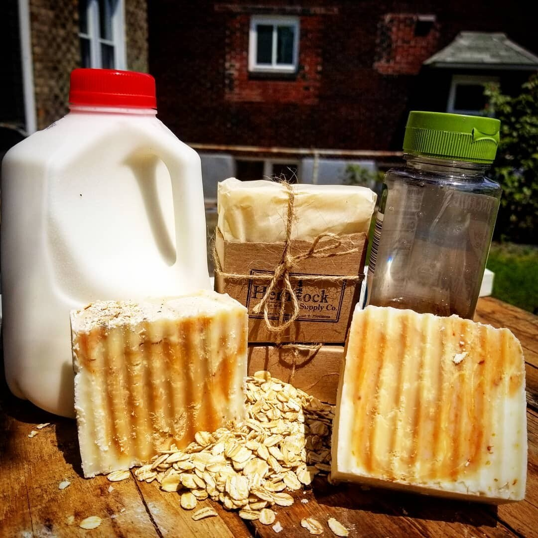 Agave + Oats + Milk Soap - Hemlock Supply Co.