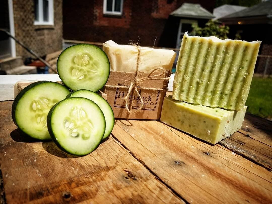 Cucumber Soap - Hemlock Supply Co.