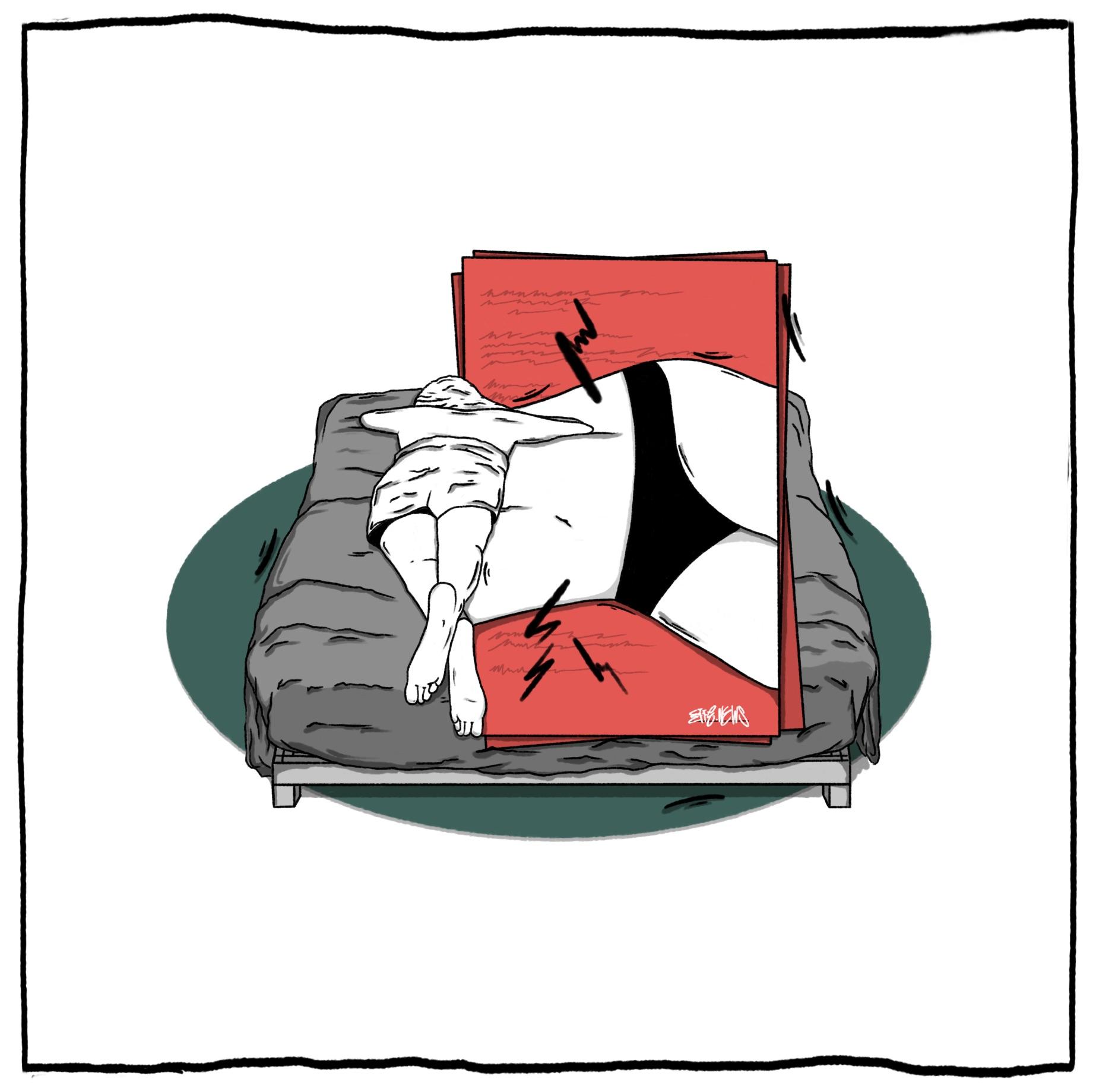 Menstrual Period Illustration