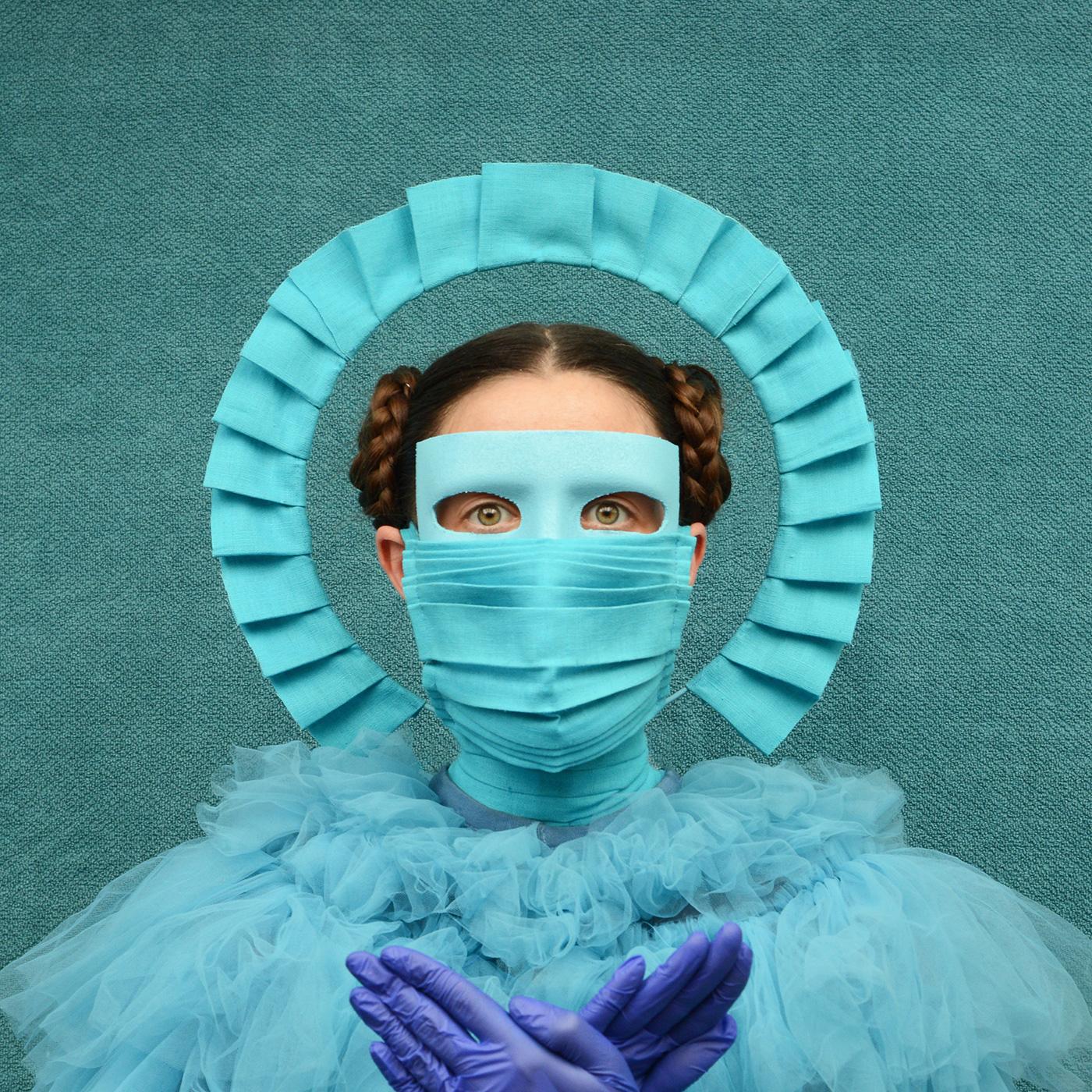 Freyja Sewell designed mask
