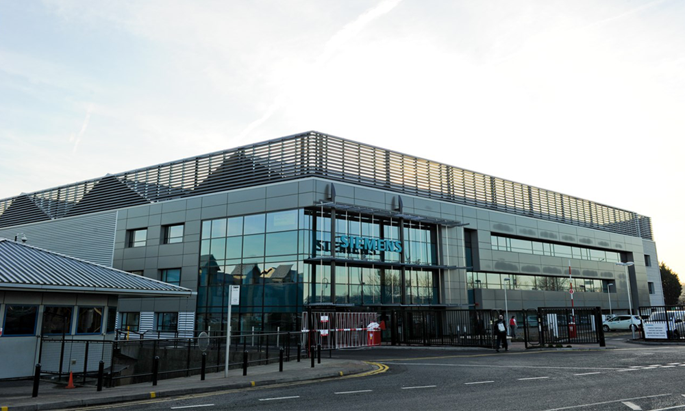 Siemens Energy building and warehouse