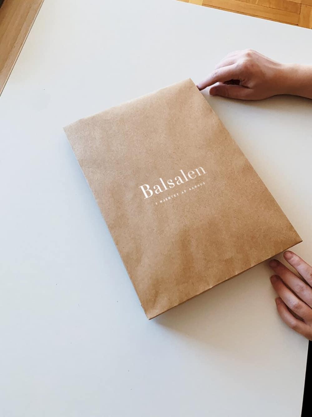 Opdatering af logo til Balsalen