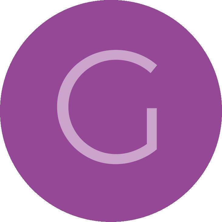 Review avatar letter G