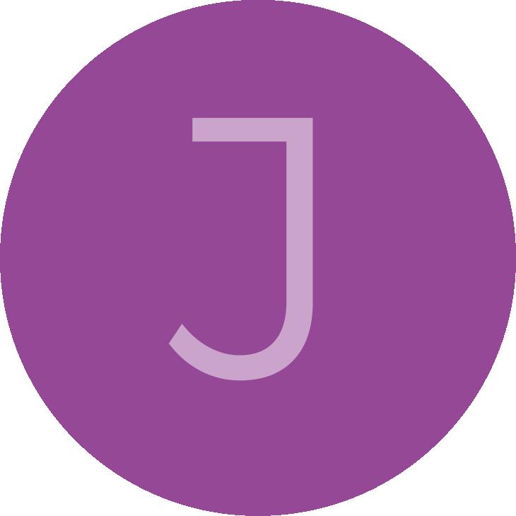 Review avatar letter J