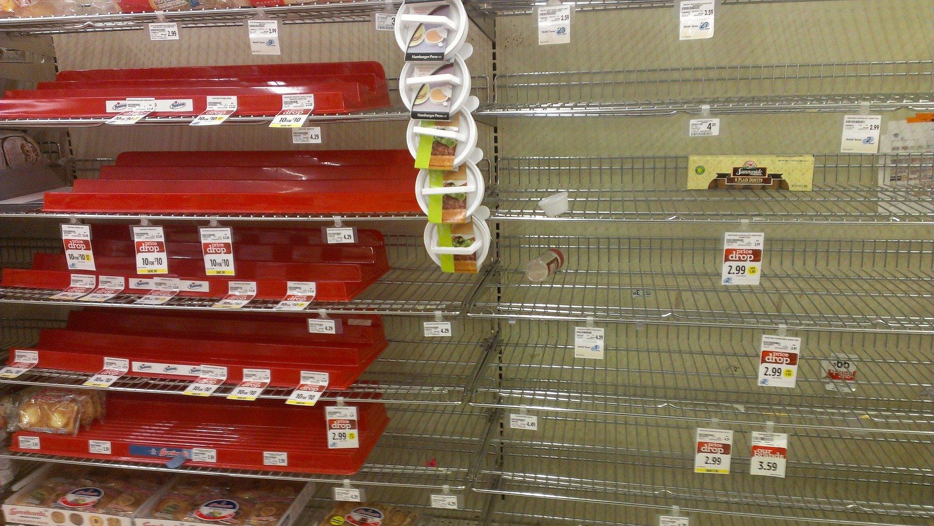 Empty Shelves: Organising Your Corner of an American Apocalypse