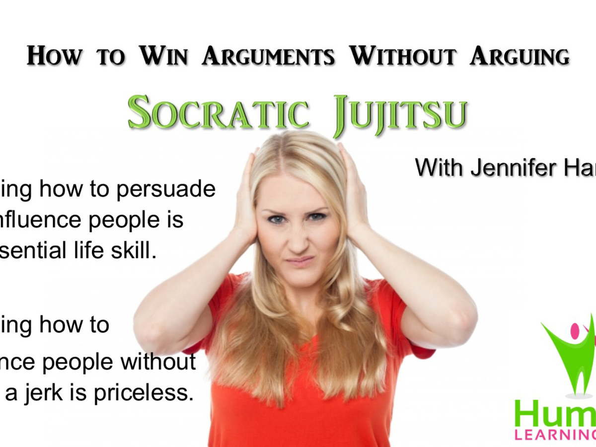Socratic Jujitsu: How to Win Arguments Without Arguing