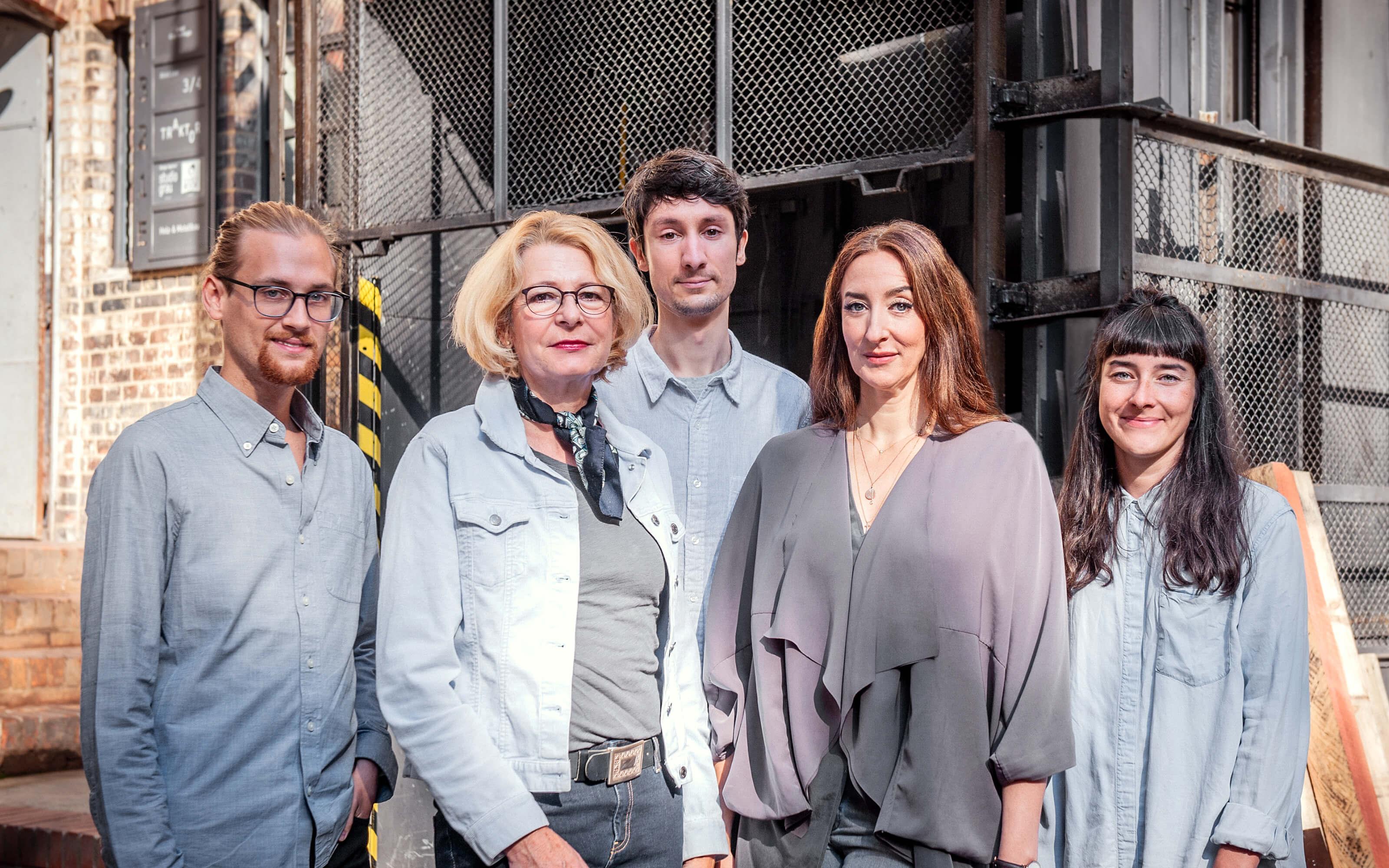 Teamfoto von Studio Grau
